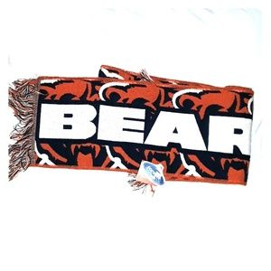 Other - Chicago Bears scarf NWT